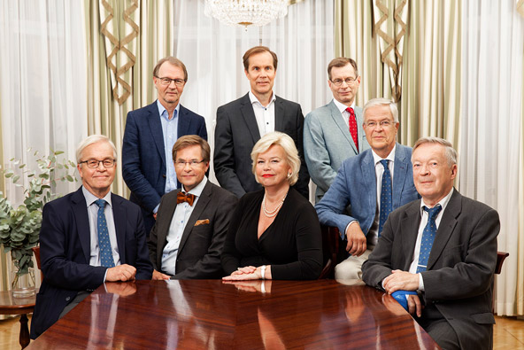 The Board of the Finnish Academy of Science and Letters 2016